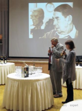 Элитные вина Калифорнии в Доме Русского Зарубежья