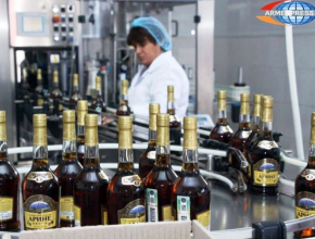 Производство коньяка в Армении за 2018 год выросло на 2,5% до 30,7 млн. литров
