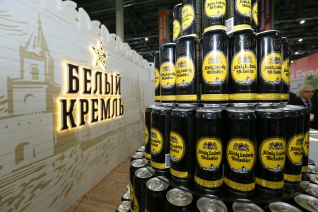 Продукция пивоваренного завода «Белый Кремль» признана лучшей в России