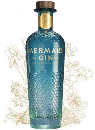Бренд джина Mermaid представил удивительную резную бутылку